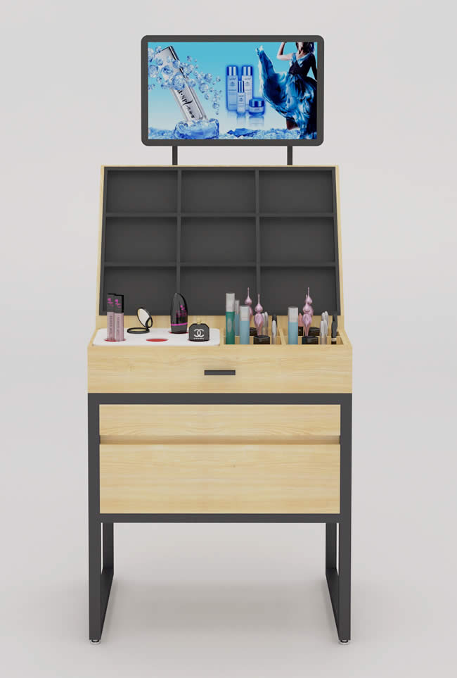 智能展示柜-化妆品专柜